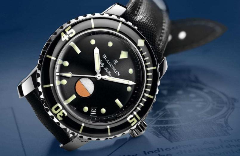 宝珀手表维修中心展示手表