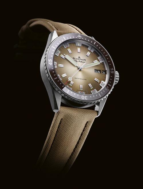 【北京宝珀售后服务】宝珀推出了沙漠色的腕表(图)